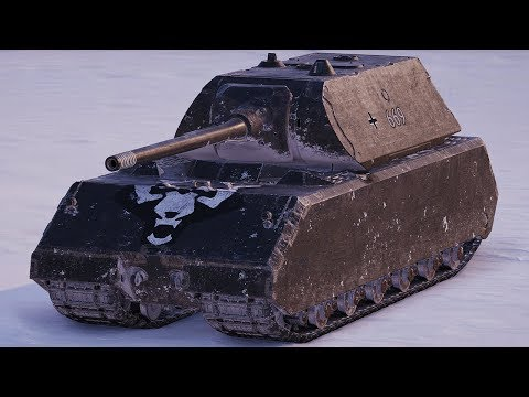 World of Tanks Maus - 6 Kills 10K Damage