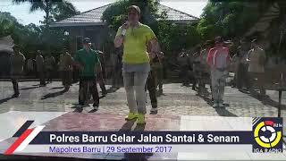 Video POLRES BARRU GELAR JALAN SANTAI & SENAM BERSAMA MUSPIDA MP3, 3GP, MP4, WEBM, AVI, FLV Desember 2017