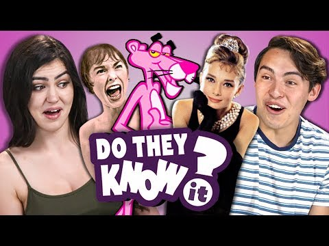 DO TEENS KNOW CLASSIC MOVIES? (REACT: Do They Know It?)