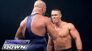 Video A debuting John Cena accepts Kurt Angle's open challenge: SmackDown, June 27, 2002 MP3, 3GP, MP4, WEBM, AVI, FLV Juni 2019