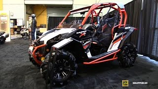 1. 2016 Can Am Maverick X XC 1000R Side by Side ATV - Walkaround - 2015 St Hyacinthe ATV Show