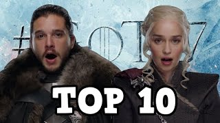 It's time for my top 10 first meetings I want to see in Game of Thrones season 7! I love it when we see characters meet for the first...