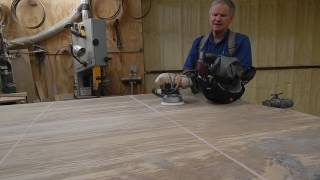 Sanding Table Tops and other Tips