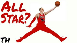 "On draft night, the Chicago Bulls traded away their franchise player, but I'm here to show you that the person they selected 7th overall, may be exactly what they needed in the first place.Lauri Markkanen is the latest addition to the wave of 7 footers invading the NBA that have the ability to shoot and attack off the dribble. Let's take a closer look at the prospect many people are calling the best shooter in this draft, and how he can develop into the mold that was made by greats like Dirk Nowitzki and Kristaps Porzingis. Does Lauri Markkanen really have ""Rookie of the Year"" potential?Beats: DKST Beats- Torn Out Page 7th Letter Beats- Rose GoldDKST Beats- Let the Music PlaySpecial thanks to Lauri Markkanen, Frank Vision and Draft Express for some of the clips and all they do for the basketball community.I do not own the footage or music in this video. All rights go to their respective owners.Thanks for watching! Please don't forget to drop a like, leave feedback in the comments section below, and SUBSCRIBE.Remember to turn on post notifications so you don't miss any new content.Twitter: https://twitter.com/Tr1ce_H1ghInstagram: https://www.instagram.com/trice.high/God bless."