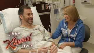 Jimmy Kimmel Gets a Colonoscopy with Katie Couric