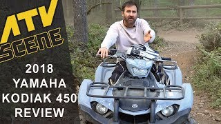 8. 2018 Yamaha Kodiak 450 Review