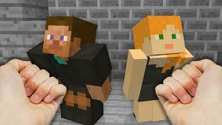 REALISTIC MINECRAFT - STEVE GETS A DIVORCE! 💔
