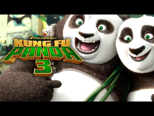 Kung Fu Panda 3 (3D, norsk tale)