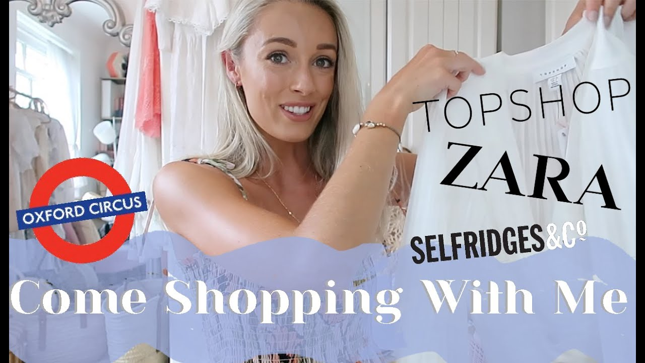 COME SHOPPING WITH ME IN LONDON 🇬🇧 Highstreet Shopping in ZARA, Topshop, Selfridges & more! //