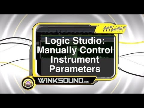 Logic Pro: Manually Control Instrument Parameters | WinkSound