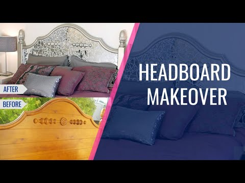 DIY Headboard Makeover: MyEye4DIYTV