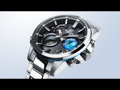 Умный хронограф Casio Edifice EQB-600 с новыми возможностями, включая 3D Globe Dial (видео)