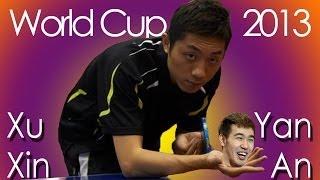 Table Tennis Highlights, Video - World Cup 2013: Xu Xin vs Yan An