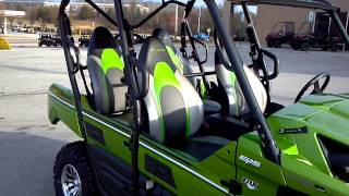 10. 2014 Kawasaki Teryx 800 4 seater in LIme Green @ Alcoa Good Times