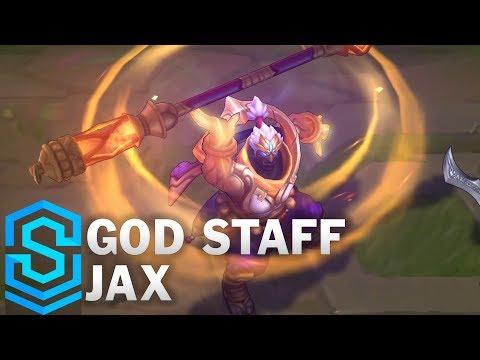 Jax Thần Trượng - God Staff Jax