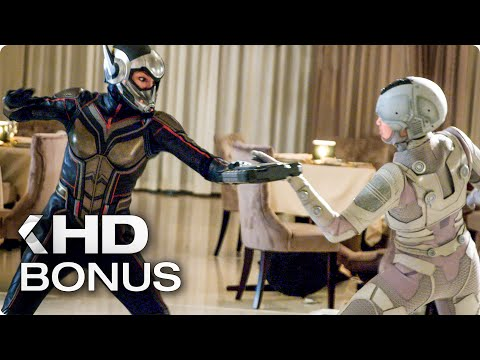 Ant-man And The Wasp All Bonus Features, Deleted Scenes & Bloopers (2018)