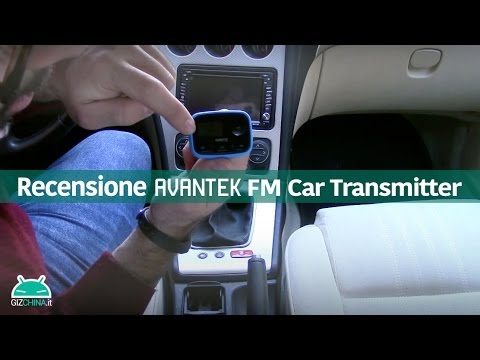 Avantek FM Car Transmitter recensione in italiano by GizChina.it