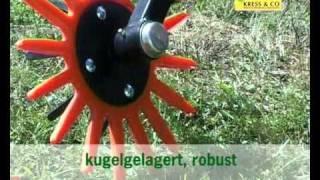 K.U.L.T. Fingerhacke,hacken in der Reihe; K.U.L.T. finger weeder, in row cultivator