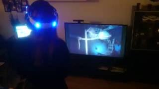 Girlfriend playing with PSVR for the first time.English subtitles. Finnish language.I will film more something like this if you enjoy! So leave a comment and hit like button 100000x times /shttps://twitch.tv/t0nin0t we stream here pretty often. Shitty mic still.