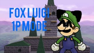 [TAS] Fox Luigi – 1 Player Mode!