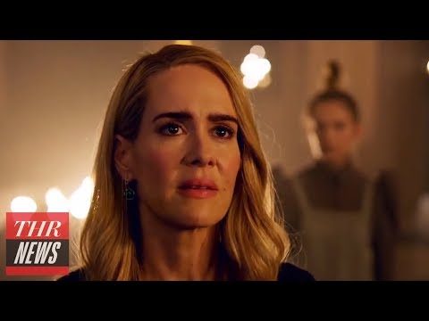 Sarah Paulson Talks Epic 'American Horror Story' Crossover & Her Directorial Debut | Billboard News