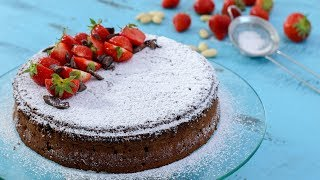 Torta Caprese - Flourless Chocolate Almond Cake