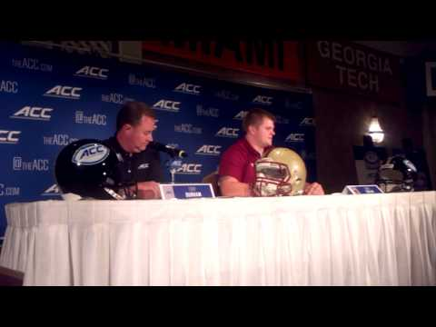 Andy Gallik Interview 7/21/2014 video.