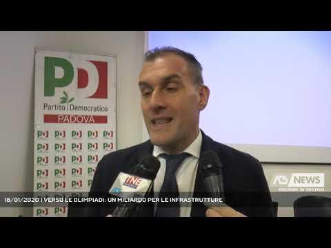 18/01/2020 | VERSO LE OLIMPIADI: UN MILIARDO PER LE INFRASTRUTTURE