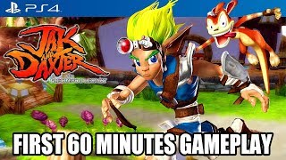 ►► Select 1080p for Best Quality HD ◄◄ The first 1 hour of Jak and Daxter: The Precursor Legacy on the PS4, played on the Playstation 4 Pro.