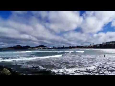 Video Time Lapse Playa de Las Canteras