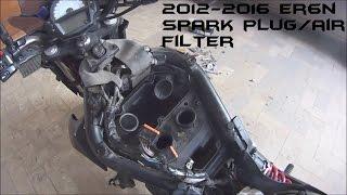 3. How To Change Kawasaki ER6N Spark Plug/Air Filter 2012-2016