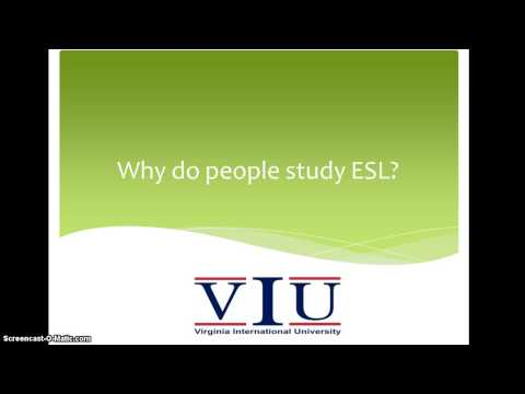 SED Minute Lecture Series -ESL