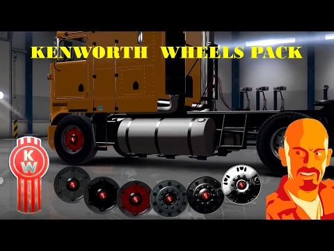 Kenworth Wheels Pack (ETS2 Version) 1.26.x