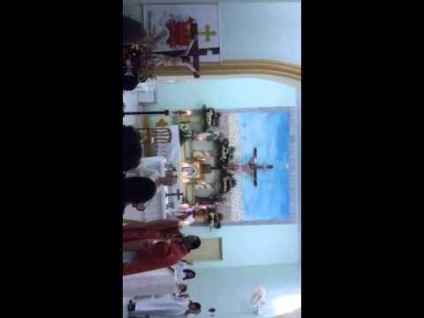 RENOVAÇÃO DA CRISMA DE JEOVANETE VIEIRA TORRES em Canhoba/SE/2014