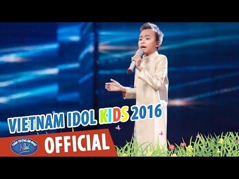 HÁT TỪ TRÁI TIM - HỒ VĂN CƯỜNG - VIETNAM IDOL KIDS 2016 GALA 3