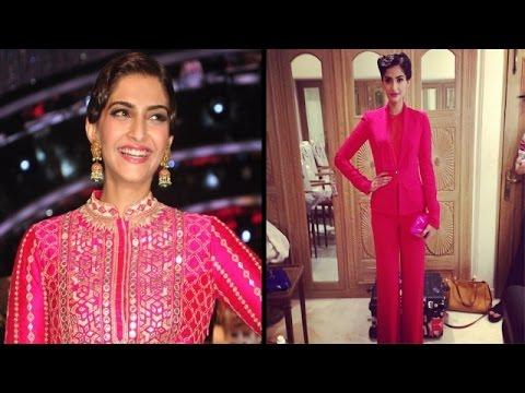 Sonam Kapoor's Unseen Looks behind the scene…!!