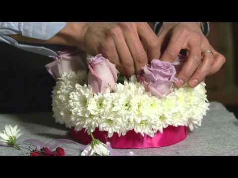Il fioraio Paolo Zonta ci consiglia un'idea regalo davvero originale: torta di fiori