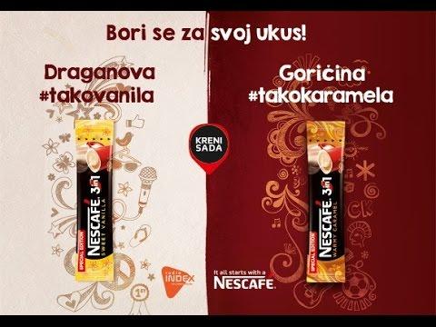Nescafe 3u1 Vanila&Karamela Borba ukusa