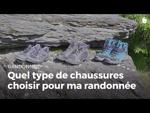 Apprendre à choisir le bon type de chaussure | Randonnée