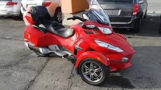 9. 2012 Can am spyder RT S ***FULLY LOADED***