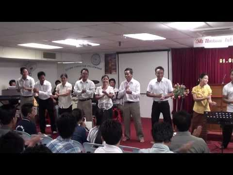 Zotung Malaysia ZCF,A 2014 Happy New Year( Buupi te Nopi Buu piccang'ae )