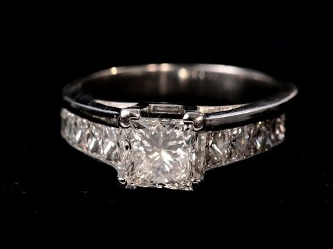 What Is a Princess Cut? | Diamond Rings