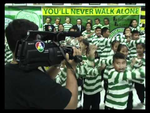 JCGE at the passport office - http://www.goodchildfoundation.com/ Thai Tims going to Celtic Park sing