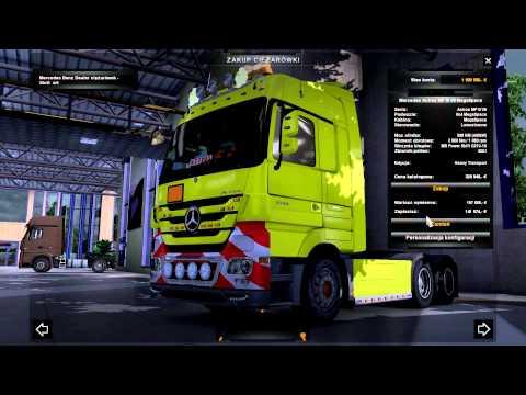 ETS 2 | Mercedes Actros MP III | MEGA TUNING!!!