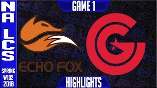 Video FOX vs CG Highlights | NA LCS Spring 2018 S8 W1D2 | Echo Fox vs Clutch Gaming Highlights MP3, 3GP, MP4, WEBM, AVI, FLV Juni 2018