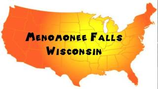 Menomonee Falls (WI) United States  city photos : How to Say or Pronounce USA Cities — Menomonee Falls, Wisconsin