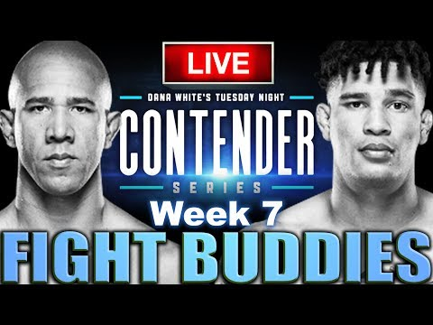 🔴 CONTENDER SERIES 2020 | WEEK 7 | RODRIGUES VS WILLIAMS LIVE FIGHT REACTION!
