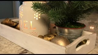 4 Easy Kitchen Countertop Decorations || Decorate With Me || Day 6 Christmas 2017