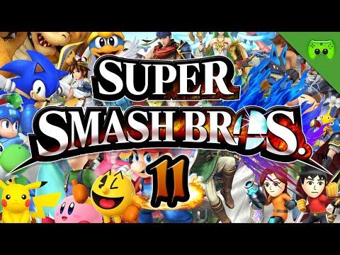 SUPER SMASH BROS # 11 - Brammen saugt uns weg «» Let's Play Super Smash Bros.   Full HD