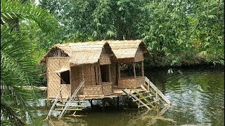 Video Swimming Pool House Making By Smart Village Boys - Build House On Fish Farming Ponds Water MP3, 3GP, MP4, WEBM, AVI, FLV November 2018